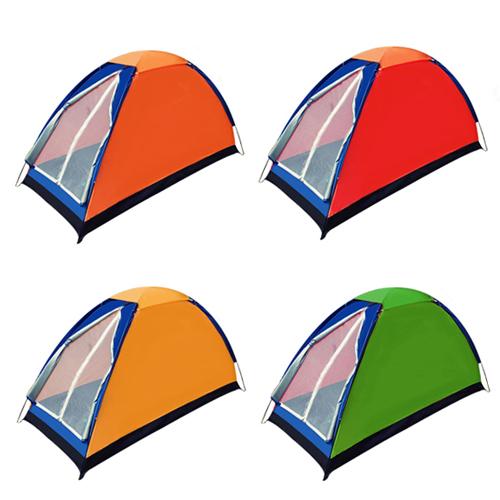 스마일굿 1인용 텐트, 색상랜덤