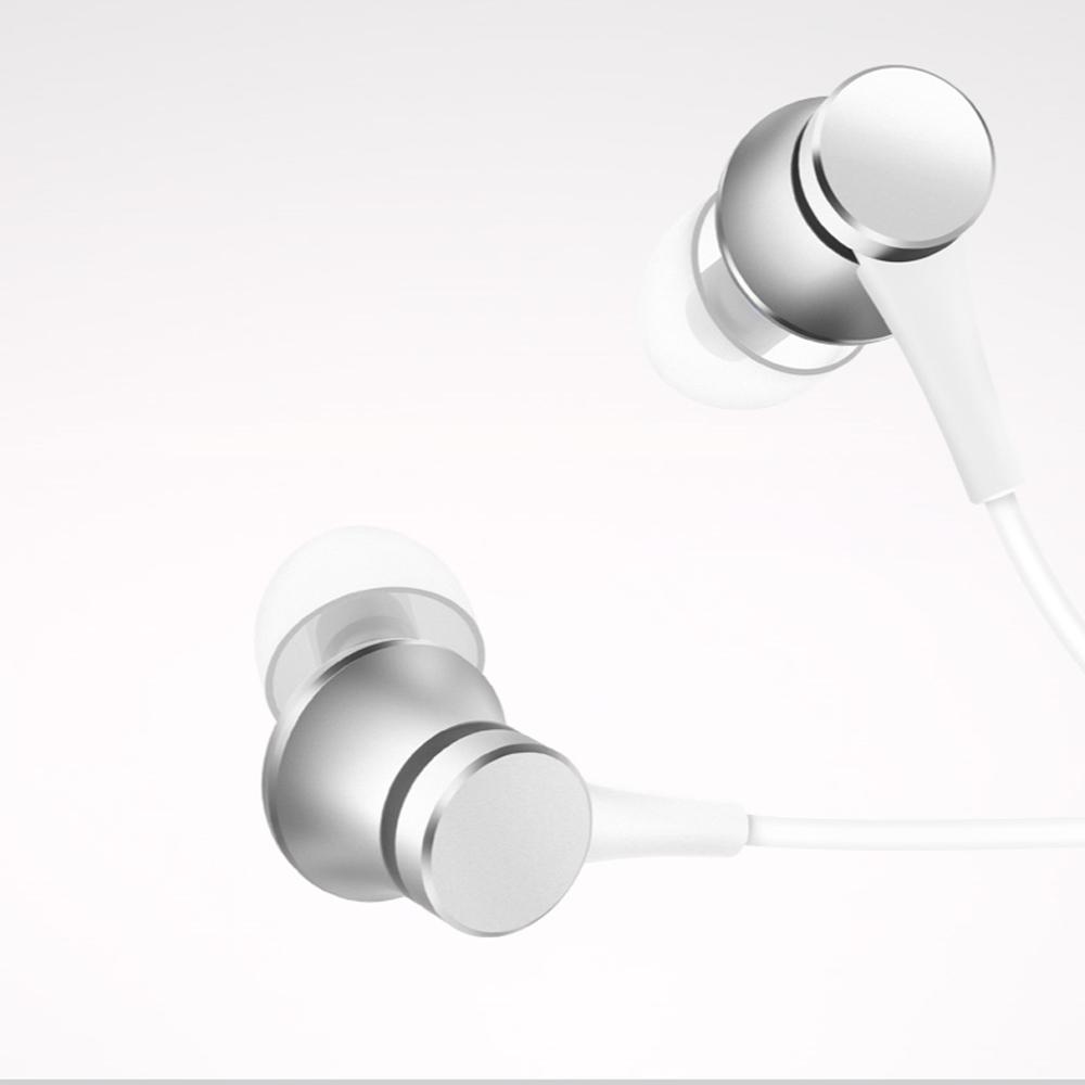 샤오미 정품 피스톤4 베이직 청신판 HSEJ03JY 이어폰, 실버, 색상