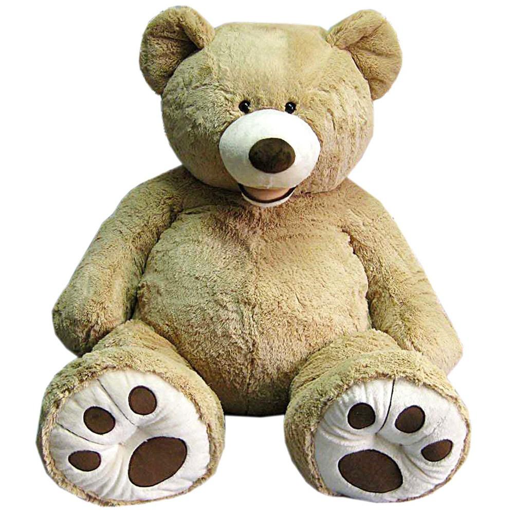 코스트코 대형 곰인형 봉제인형, 골드, 1.3m