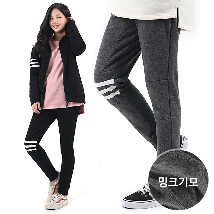 VENTIV 벤티브 여자 3선절개 세트 기모 트레이닝복