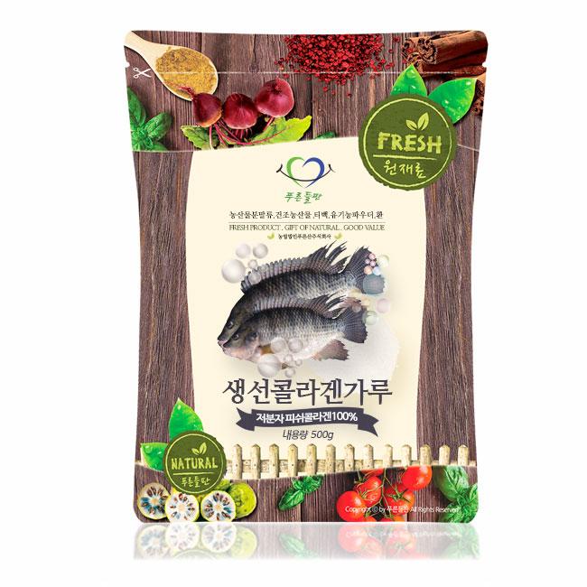 [푸른들판] 생선콜라겐가루 콜라겐, 500g, 1개
