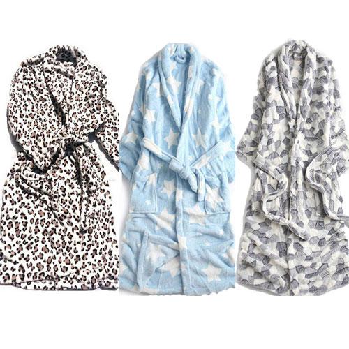 극세사가운 커플가운 겨울 잠옷 목욕가운 샤워가운 잠옷가운 수면잠옷 수면가운 가운, 4.블루가운, 1개