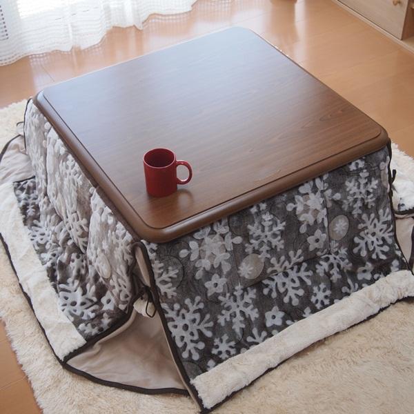 (주)지이라이프 지이라이프 장방형 난방테이블, 코타츠이불  플레즈(BE)베이지(180X220cm)