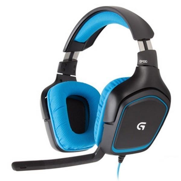 로지텍 G430 게이밍 헤드셋, 블랙, 로지텍 G430 헤드셋