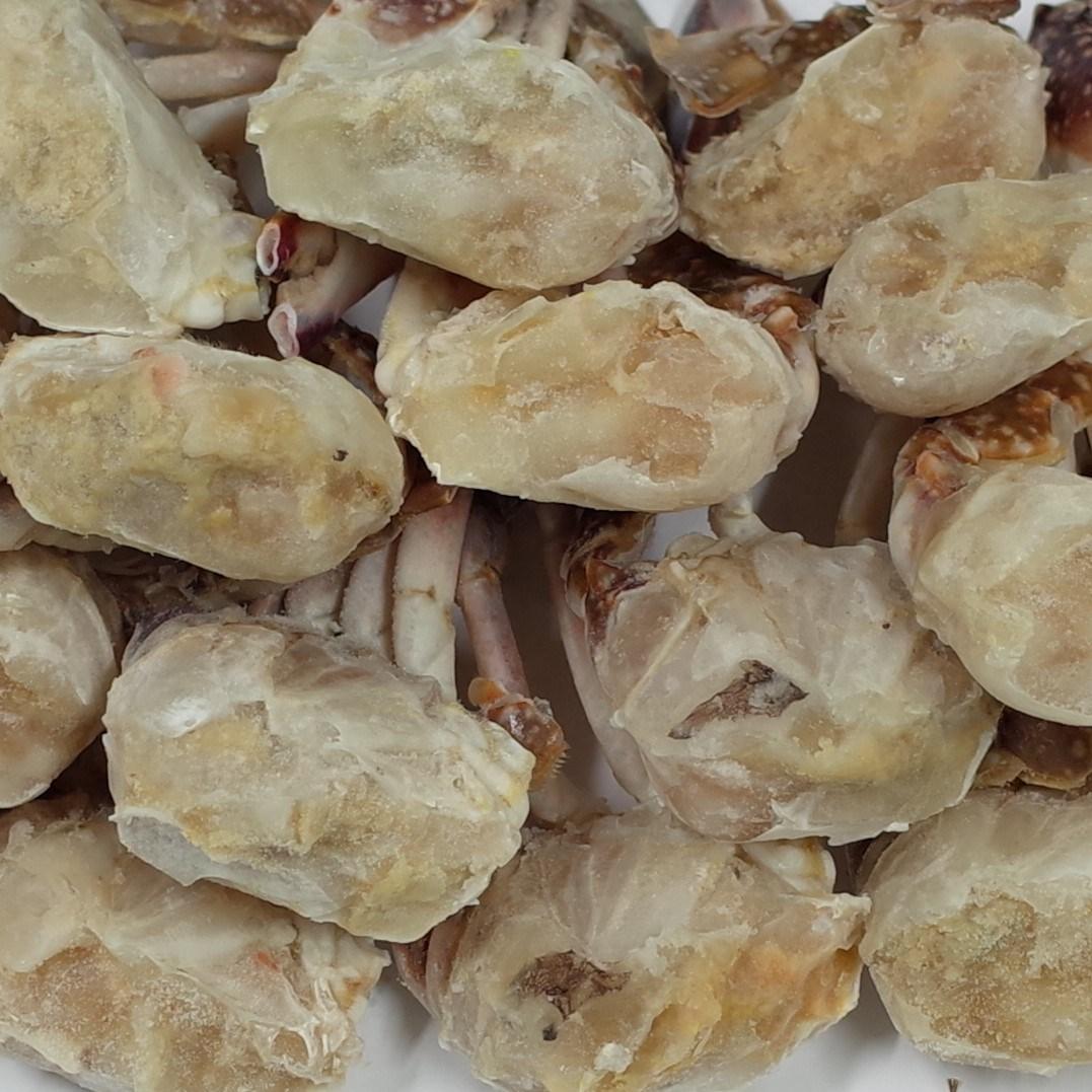 장안씨푸드 국내산 냉동 손질 절단 숫꽃게, 1box, 1kg