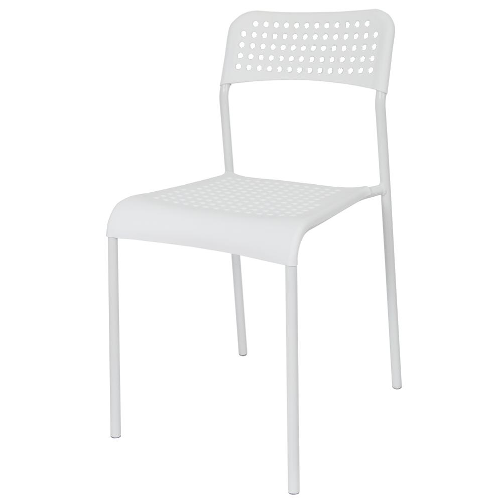 THEJOA 에이디체어 인테리어의자, 화이트