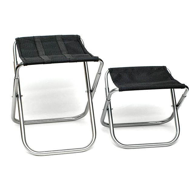 트윈무역 두랄루민 등산의자 접이식 미니의자 초경량 휴대용/낚시 캠핑의자, 소형, 1개