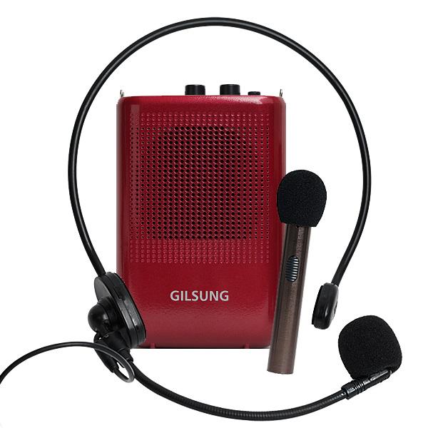 GILSUNG 휴대용 마이크 앰프 스피커 기가폰 GSP-1, 펄와인, 휴대용마이크앰프 GSP-1