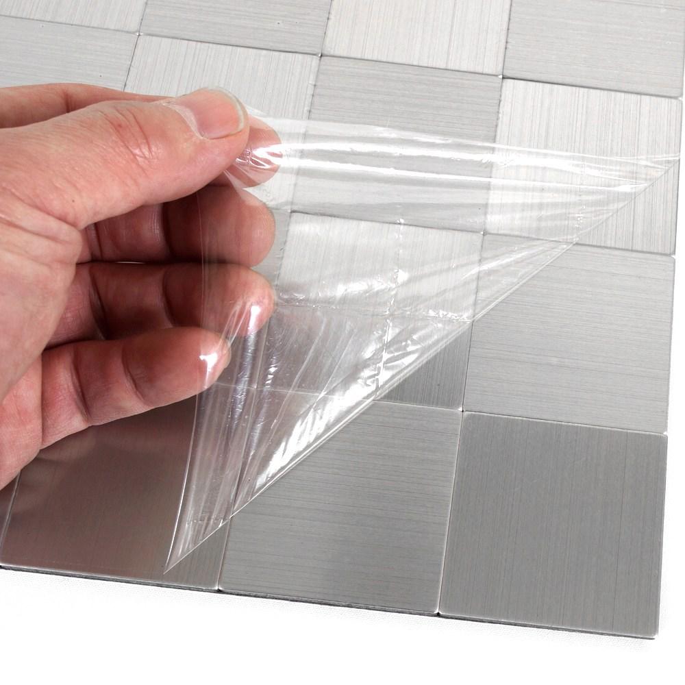 현대시트 주방욕실 접착식 메탈타일 5+1(5개당1개추가서비스), HMT_99301