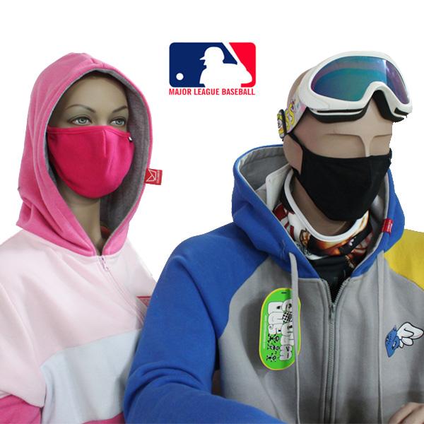 MLB 정품 방한마스크 면마스크 넥워머 극세사마스크