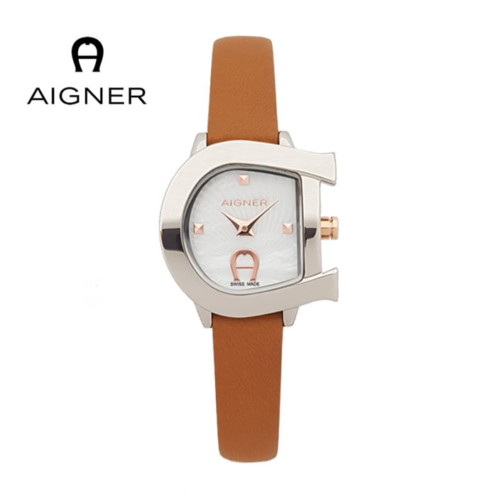 A118208 아이그너 AIGNER 백화점AS가능 여성 가죽시계