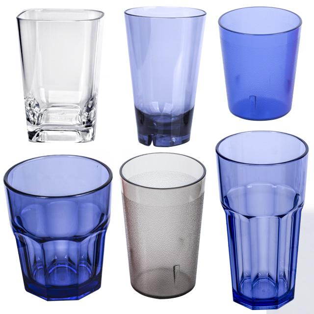 바이굿즈 PC 물컵 안깨지는 업소용 가정용 플라스틱컵, 400P투명