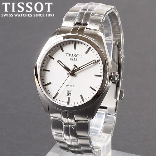 [Tissot] 티쏘시계 PR100 젠트 메탈밴드 T101.410.11.031.00 메탈 시계