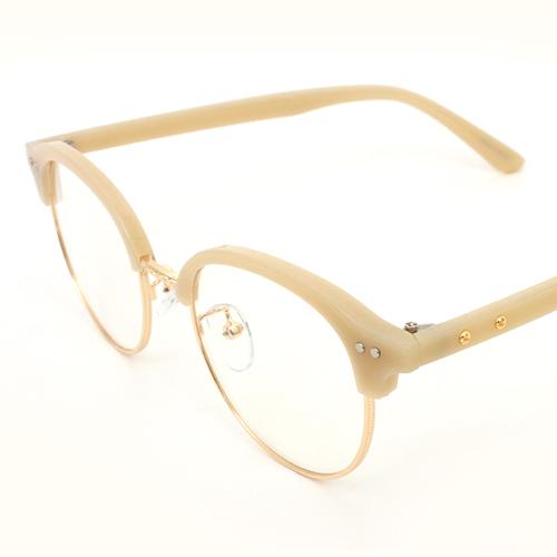 SNUV GL161 크리시 복합테 안경 뿔테안경