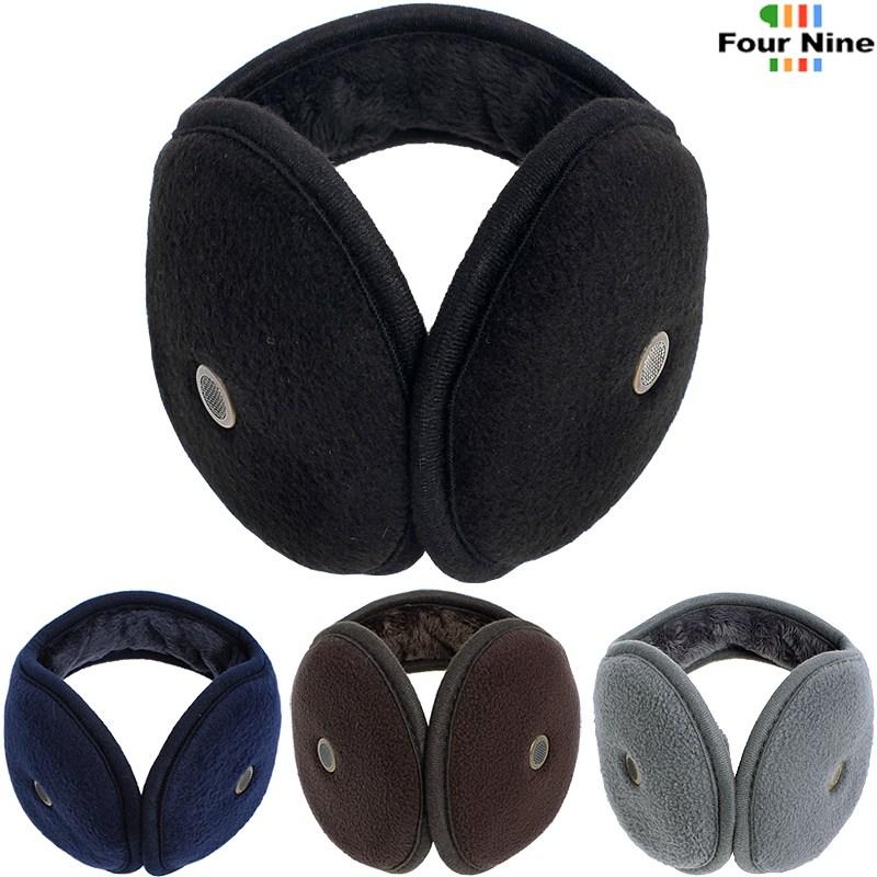 따뜻한 안감 털 청음 방한 귀마개 F552F 길이조절가능 등산 레저 스키 보드
