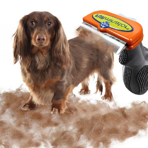 만원몰 데드퍼 퍼미네이터 강아지 고양이 빗 애완견 브러쉬, 1개, 강아지(장모)