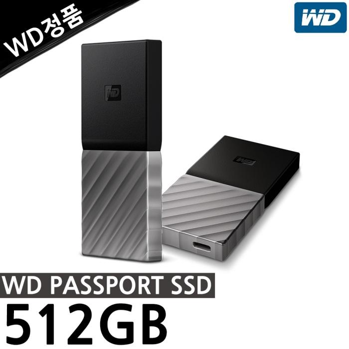 웨스턴디지털 WD My Passport SSD (512GB), 512GB