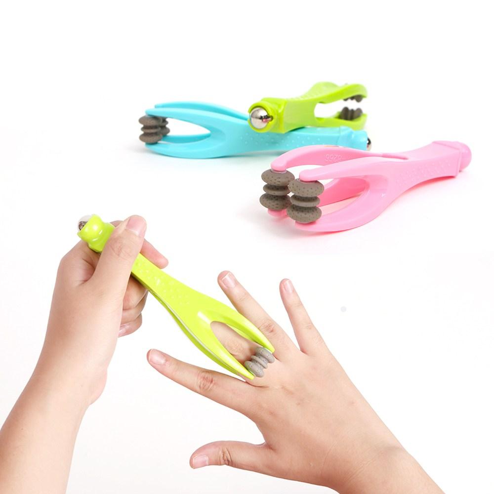 손가락 마사지 핑거롤러, 색상랜덤, 1개 (POP 57163302)