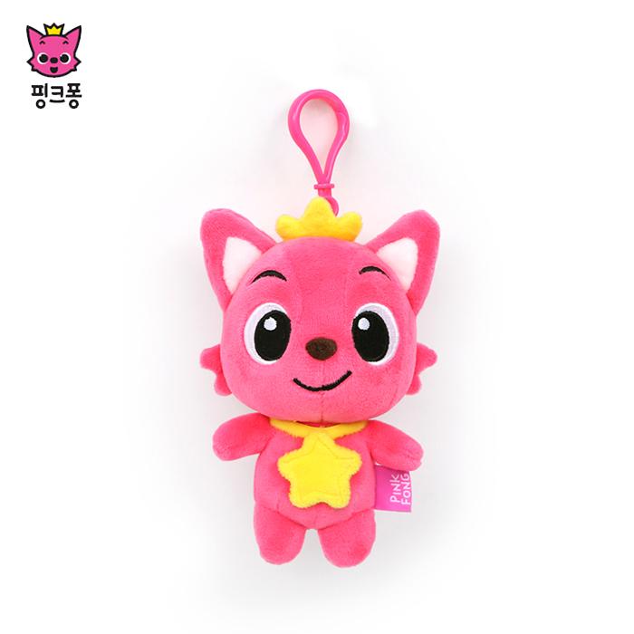 핑크퐁 위존 가방고리 인형 키링 [상품군], 핑크, 상세 설명 참조