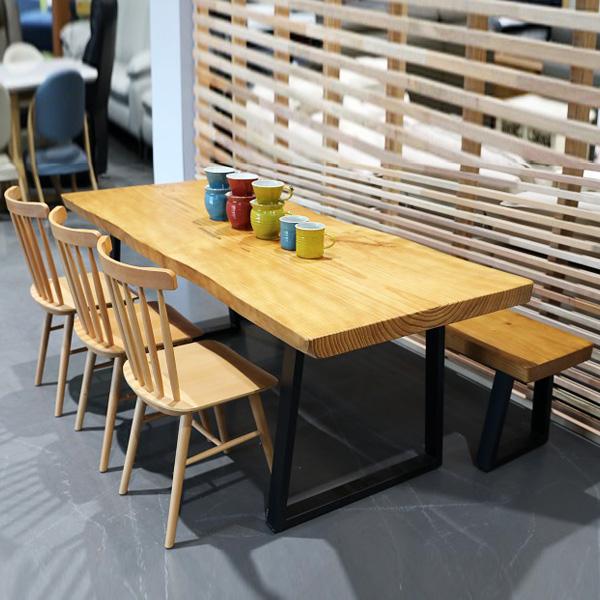 뉴송 우드슬랩 식탁 테이블, 1400 식탁 테이블
