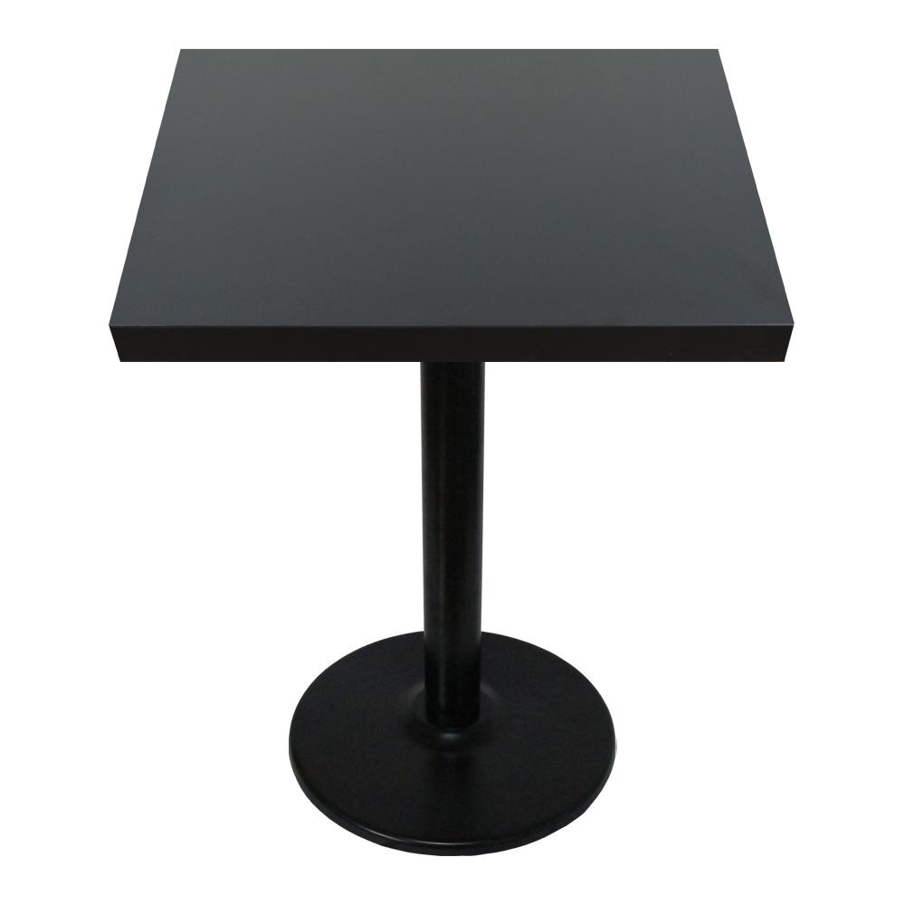 THEJOA 티테이블-LPM-600사각 카페/업소용/식탁/간이/2인, LPM-3인치-블랙