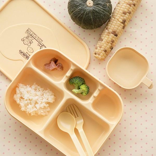 옥수수로 유아식판세트 식판단품 유아식기 1개