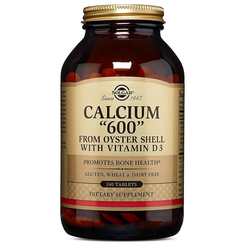 Solgar 솔가 칼슘600 비타민D3 240정, 1개-10-59362306
