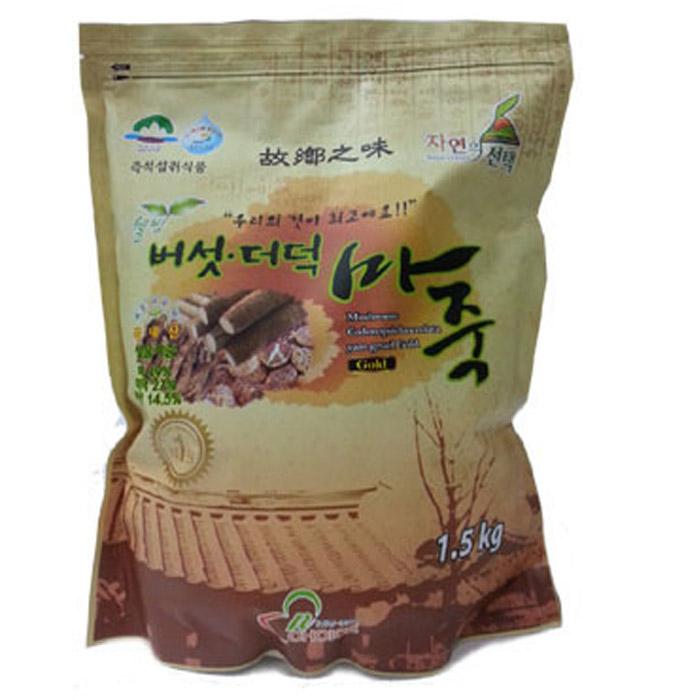 엔초이스_버섯더덕마죽골드, 1.5kg