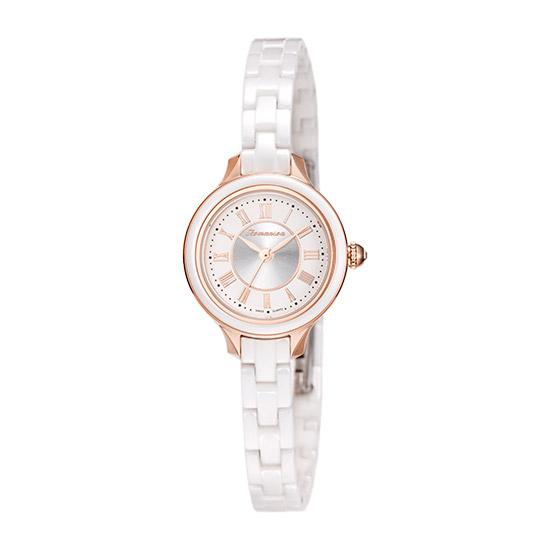 로만손 여성용 세라믹 시계 RM6A31CLWRASR1