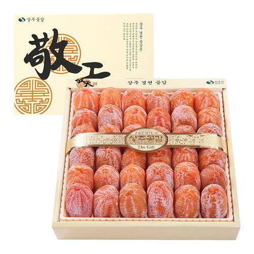 상주경천곶감농원 건시2호 1.5kg (36개) 선물세트, 1박스