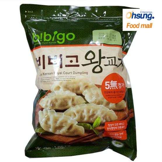 [오성식품] 비비고 왕교자만두 1.05kg, 1팩