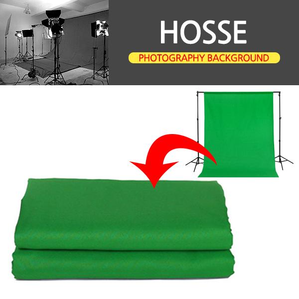삼오레포츠 HOSSE 녹색스크린 크로마키 배경천, 1개, 크로마키 배경천(300X600)