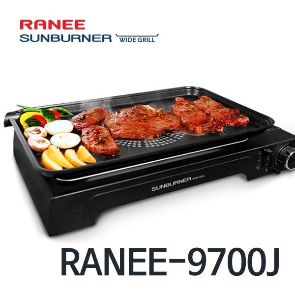 RANEE 라니 썬버너 가스 와이드그릴 불판 가스그릴, RANEE-9700J