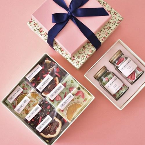 초코천사 [당일출고] 피오니 바크 초콜릿만들기 세트 초콜릿 만들기, 1set, 16종