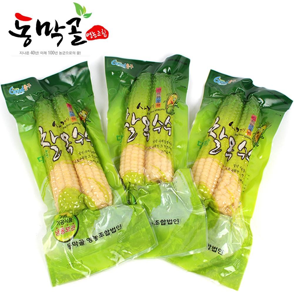 동막골 맛있는 냉동 대학 찰 옥수수, 1box, 큰놈_7pack(14개입)