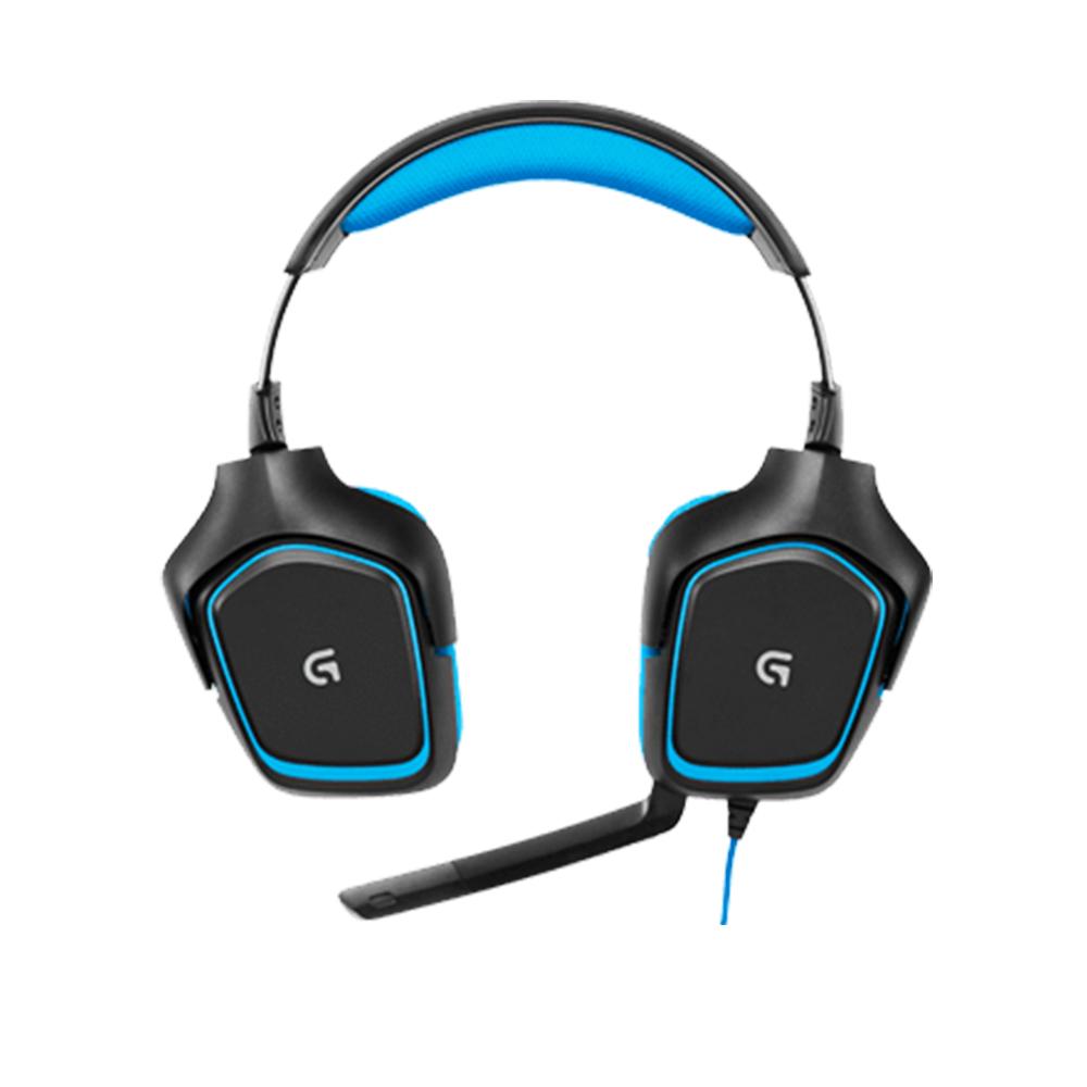 로지텍 G430 게이밍 헤드셋 벌크, 단일색상