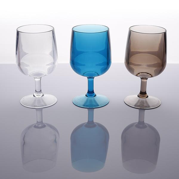 투명 플라스틱 물컵 PC 음료수컵, 화이트 와인컵(300ml)