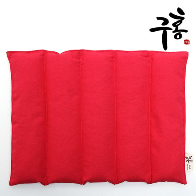 구홍 팥찜질팩(레드) 국내제조, 1개