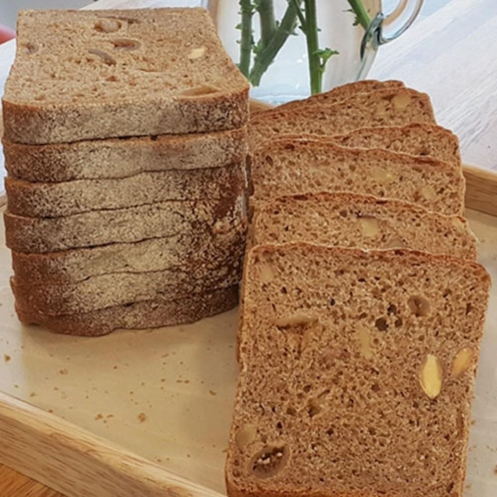 [더브레드천연발효빵] 유기농100%통밀빵 슈톨렌_무화과통밀식빵 770g(건강빵 비건빵 무설탕빵 샌드위치식빵 100%호밀빵), 1개