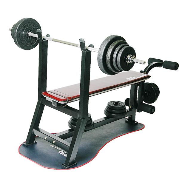 국산 레그 벤치프레스 pvc바벨 20kg~70kg세트 벤치프레스, pvc바벨20kg세트