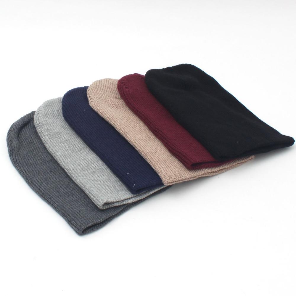[베이직코드] 코튼 면 무지 비니 모자 남녀공용 사계절용