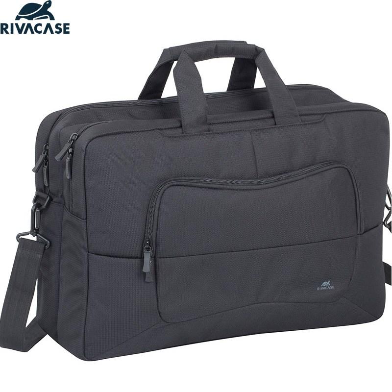 리바케이스 17인치 노트북 가방 8455 남자 대형 대용량 여행 출장 직장인 정장용 서류형, 단일상품