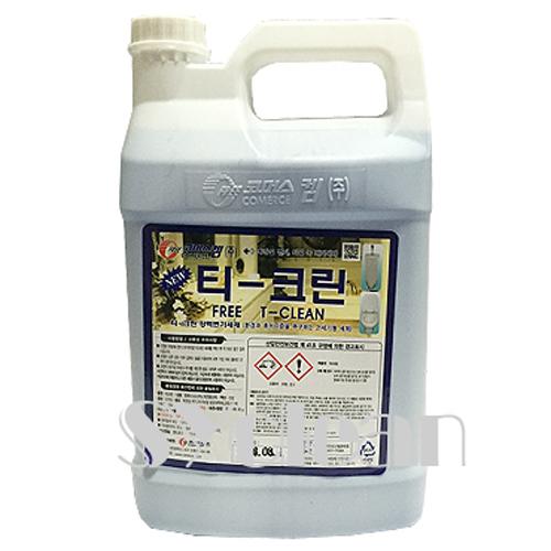 티크린3.75L 화장실강력 변기세제 세척 살균악취제거 청소약품, 1개, 3.75L