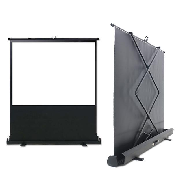 이동형 빔프로젝터 스크린 이동식 포터블 매트 빔프로젝트 미니빔 캠핑용 빔스크린 롤스크린, 04) 포터블 매트원단 빔스크린 100인치