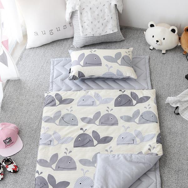 예지나홈 어린이집 낮잠이불세트(이불+패드+베개커버(솜포함) 낮잠이불세트, 05.피니쉬-아이보리