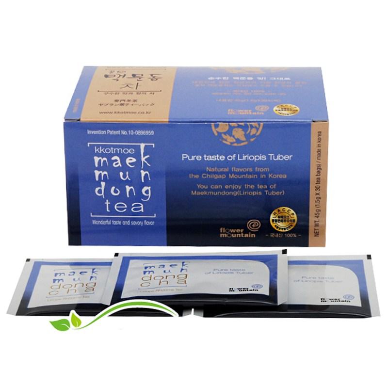 꽃뫼 맥문동차(1.5gx30티백)낱각판매, 1박스