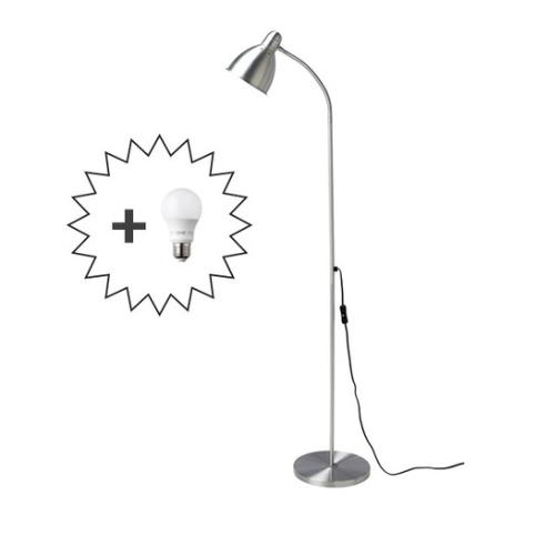 이케아 장스탠드 인테리어조명, 선택1-LERSTA(레르스타)+LED전구1개