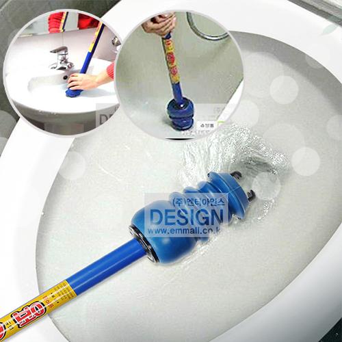 우수발명상품 쓰리펑 세면대 변기 욕조 만능 뚫어뻥, 1개