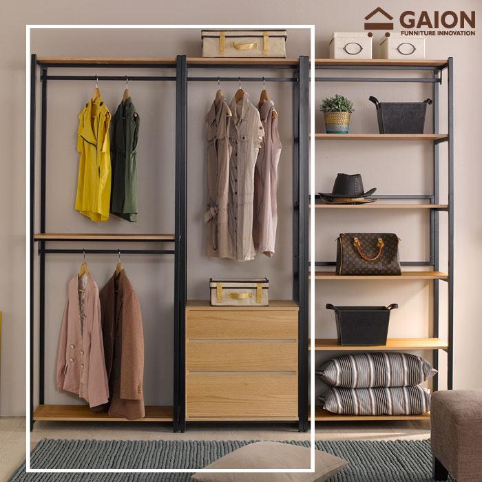 가이온 리온 1600 서랍형 드레스룸 세트 옷장, 아카시아