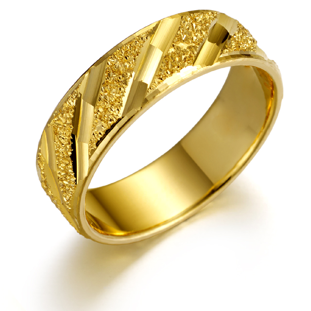 [커플레인] 24K 순금 반지 남자 여자 공용 (한돈 두돈 세돈 네돈 다섯돈 가능)